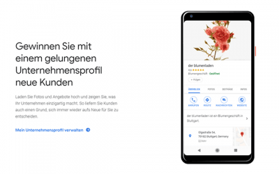 Google My Business – der Turbo für lokales Onlinemarketing